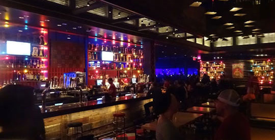 Brooklyn Bowl Bar at Linq