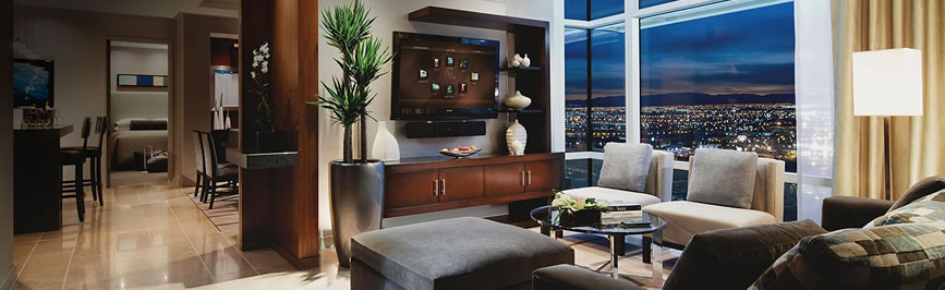 Bellagio 2 Bedroom Penthouse Suite Property las vegas aria 1 & 2 bedroom suite deals