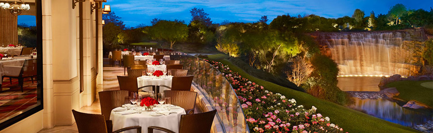 Patio at Wynn