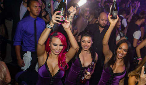 Marquee Bottle Service