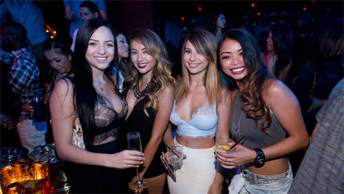 Marquee girls