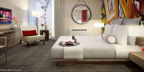 Hotel Room at The Linq