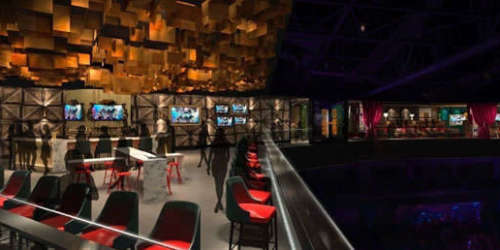 Hyde lounge inside MGM Arena