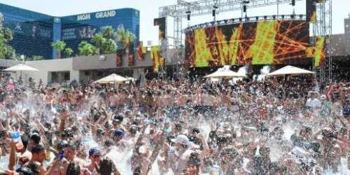 Pool Party Labor Day Weekend Event