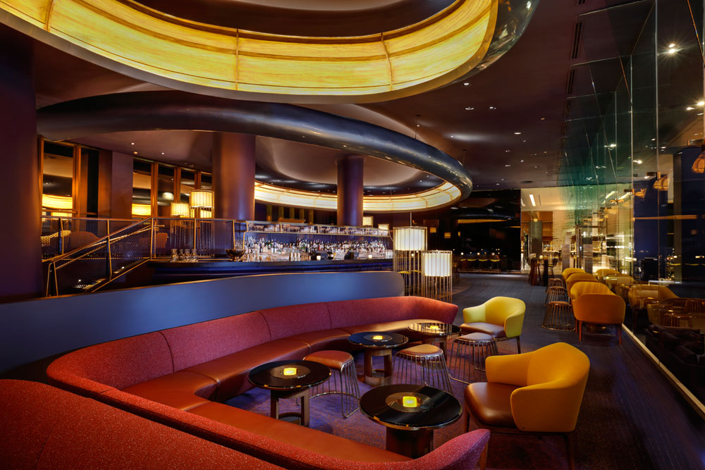 Skyfall lounge in Las Vegas